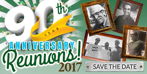 90th Anniversary Reunions